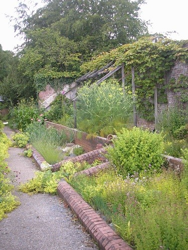 Victorian glasshouse remains