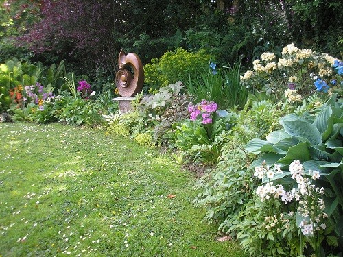 Right hand end of bog garden