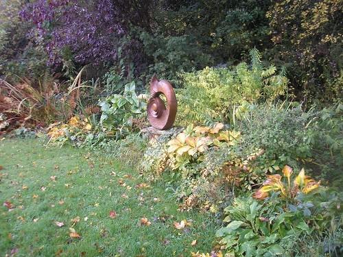 Bog garden.