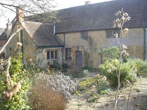 East Lambrook Manor house