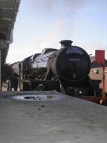 Our steam engine.