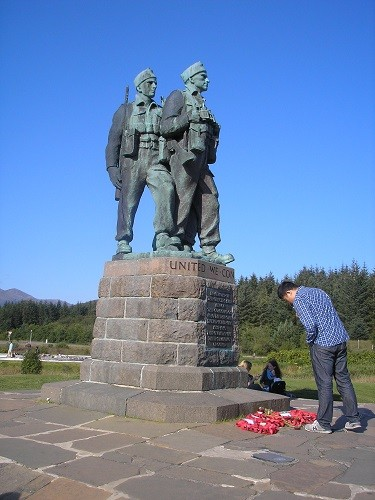 Memorial to the Commandos of the 2nd World War.