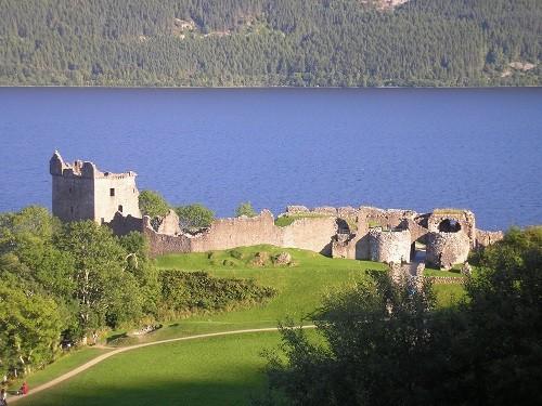 Castle Urquhart.