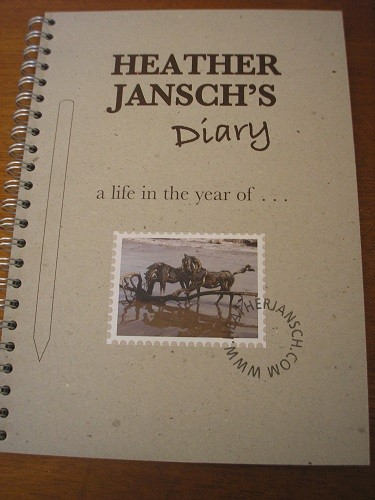 Heather Jansch's Diary and sketchbook.