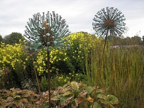 Copper seedheads