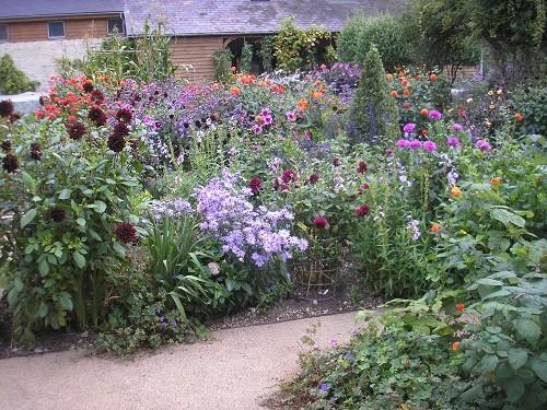 Haddon House garden
