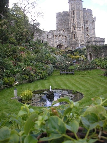 Garden at Windsor